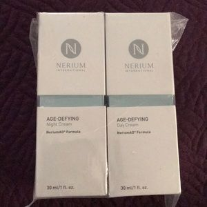 Set of Nerium Age Night and Day Cream 1 oz Each